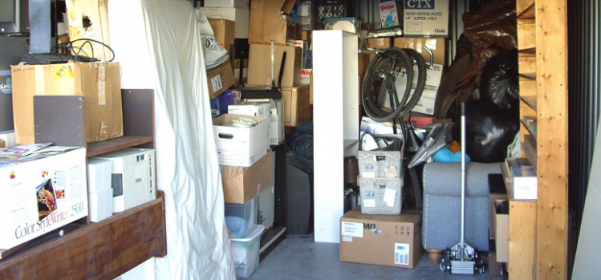 The Cost of Putting Furniture up in Storage